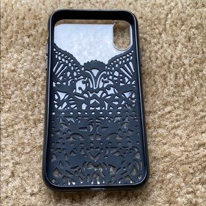 Used iPhone 10 Kate Spade phone case